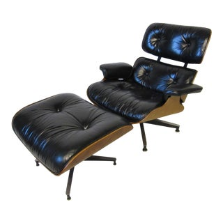 Eames 670 Lounge Chair and Ottoman by Herman Miller For Sale