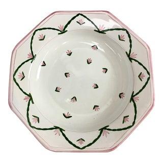 Spring Motif Portuguese Soup Plates - Set of 8