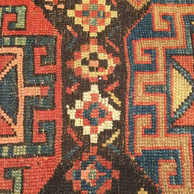 19th Century Azeri Runner - 3′3″ × 15′ For Sale - Image 4 of 4