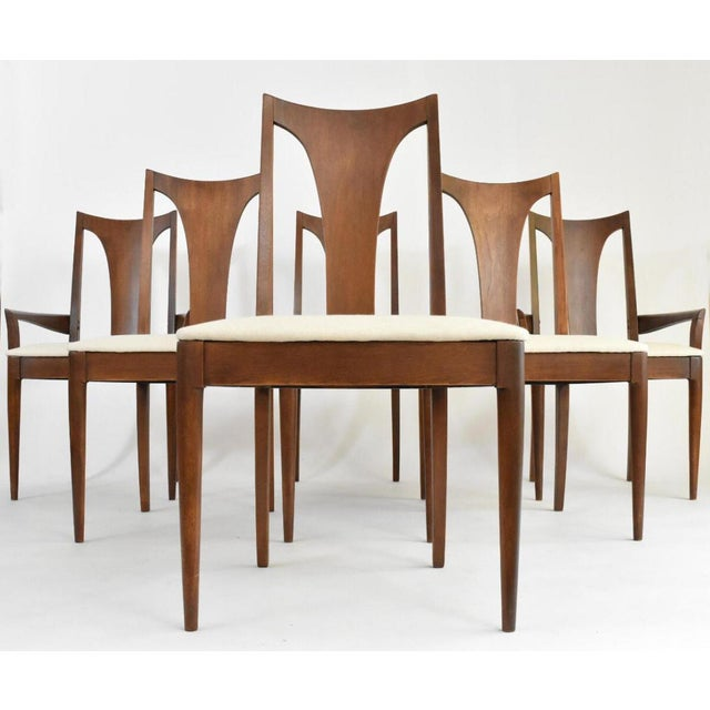 Mid-Century Broyhill Premiere Dining Chairs - Set of 6 - Image 2 of 10