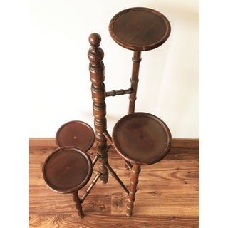 Victorian Mahogany Torchere Candelabra or Candlestand Preview