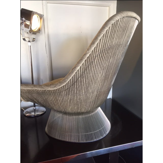 Warren Platner for Knoll Lounger & Ottoman - Image 5 of 10