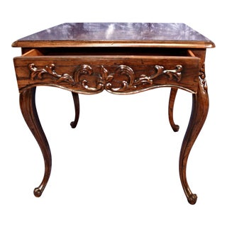 Henredon French Provincial Carved Side Table