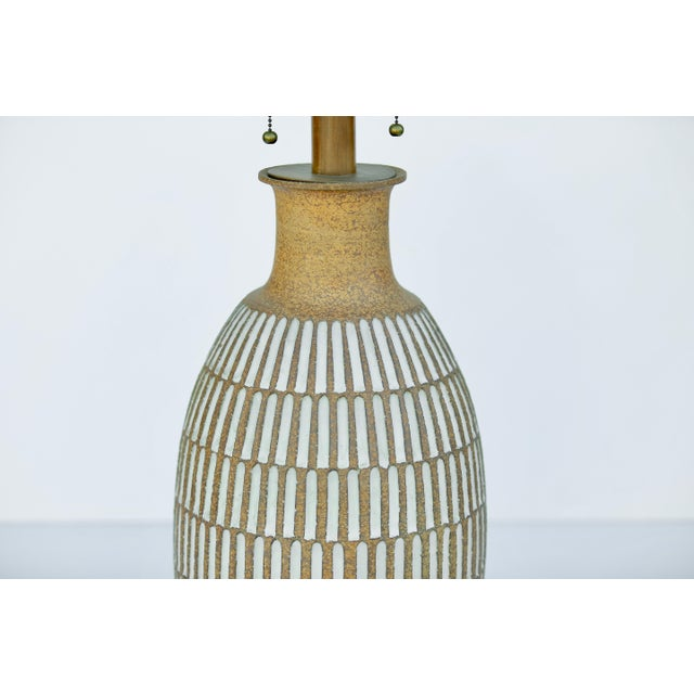 Boho Chic Vintage Brent Bennett Extra Large Table Lamp For Sale - Image 3 of 4
