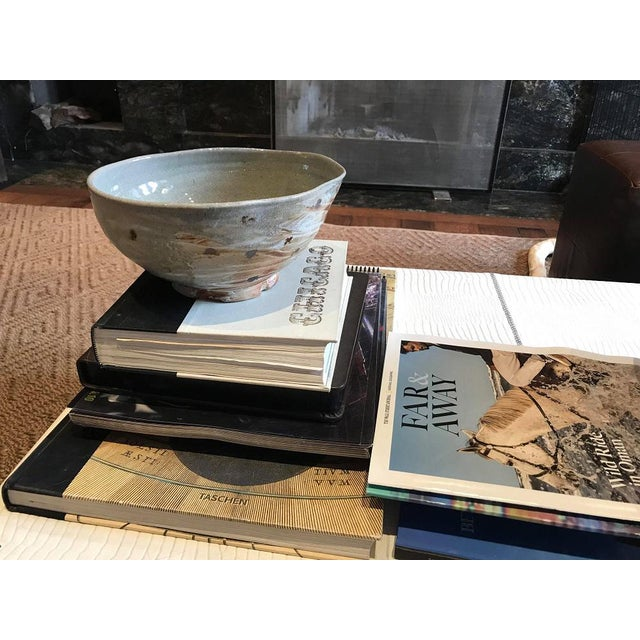 2010s Soda-Fired Japanese Inspired Serving Bowl by Zachary Weber For Sale - Image 5 of 5