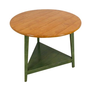 Bausman and Company Inc. Round Country French Style Side Table For Sale