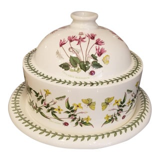 Portmeirion Botanic Garden Cheese or Dessert Dome with Plate For Sale