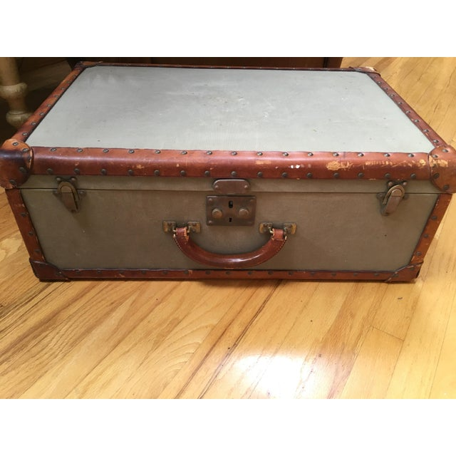 I am selling a rare, classic, awesome, Ralph Lauren suitcase. One metal tag on the outside under the handle and another...