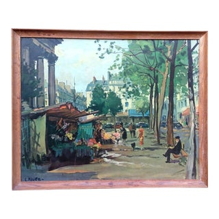 Constantin Kluge Paris Print Circa 1950 For Sale