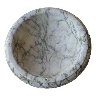 Antique Alabaster Bowl For Sale