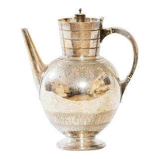 Early 1900's Silver Coffee Pot