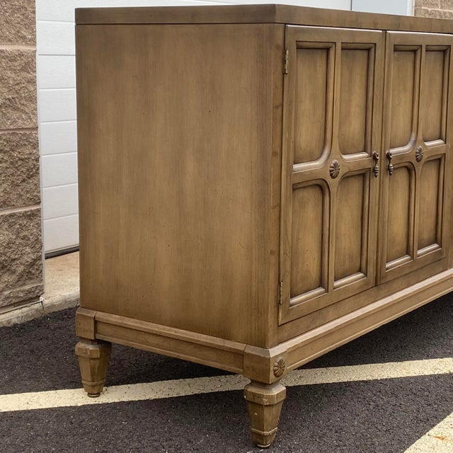 """Baker Furniture Company Modular 129"""" Credenza by Union-National Inc. For Sale - Image 4 of 13"""