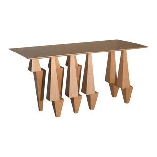 Modern Wooden Console Table For Sale