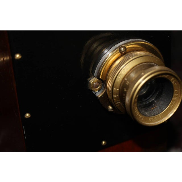 Black Williamson Colonial Type 4 Iconic 35mm Cinema Camera Circa 1914. Display As Sculpture. For Sale - Image 8 of 12