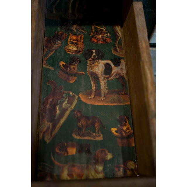 Miniature Green Organizer With Dog Liners For Sale In New York - Image 6 of 7