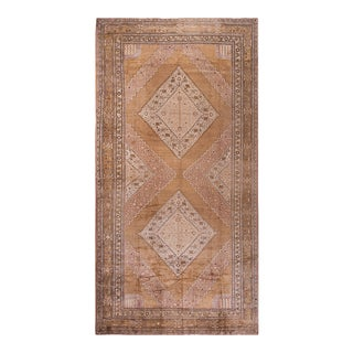 """Antique Chinese Khotan Rug 9'2"""" X 18'2"""" For Sale"""