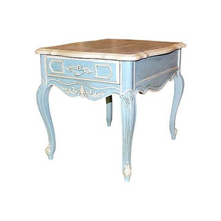 Stanley Painted Side Table For Sale