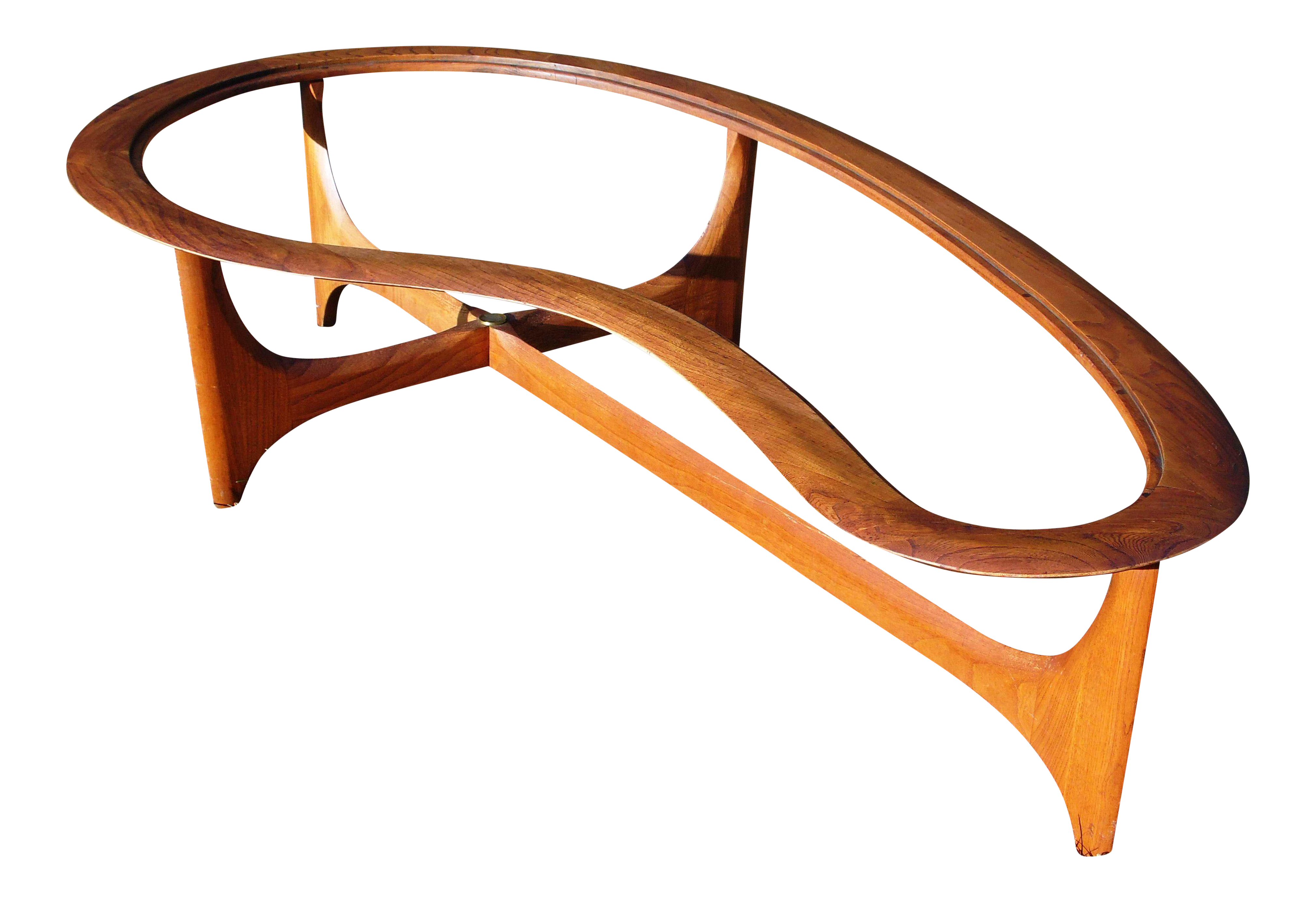 MidCentury Modern Biomorphic Coffee Table by Adrian Pearsall Chairish
