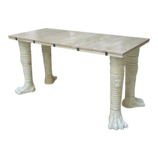 French Neoclassical Display Console For Sale