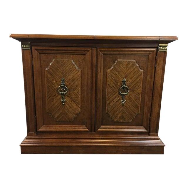 Vintage Stanley Furniture 2-Door Sideboard - Image 1 of 8 - Vintage Stanley Furniture 2-Door Sideboard Chairish