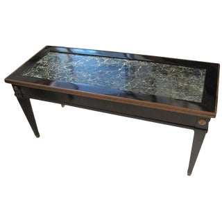 Jansen Marble-Top Coffee Table in the Directoire Manner For Sale