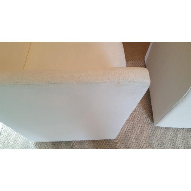Restoration Hardware Modern New Ellison Track Arm Dining Chairs - Set of 6 For Sale - Image 10 of 11