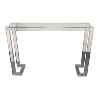 Modern Interlude Home Ava Acrylic Console Table