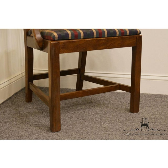 Late 20th Century Drexel Heritage Chippendale Style Dining Chair For Sale - Image 11 of 13