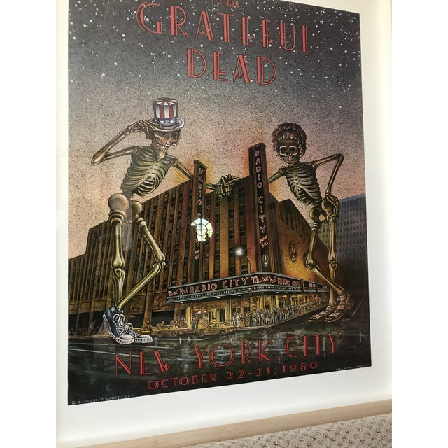 The Grateful Dead Poster - New York City For Sale - Image 4 of 5