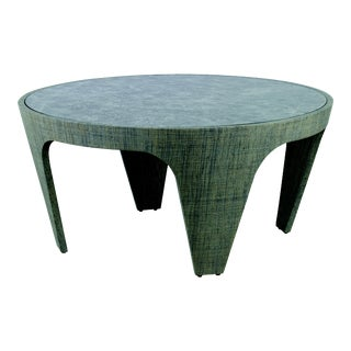 Century Furniture St. Kitts Cocktail Table, French Grey For Sale