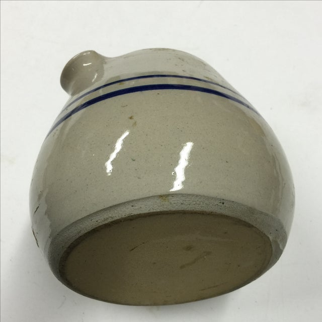 Vintage Blue And White Jug Pitcher - Image 4 of 4