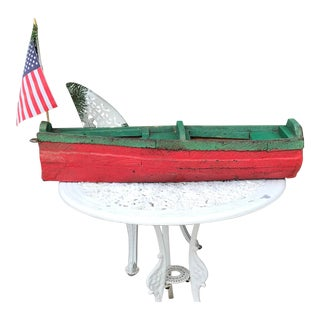 Folk Art Pond Boat For Sale