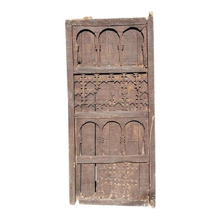 Moroccan Single Panel Wooden Door For Sale