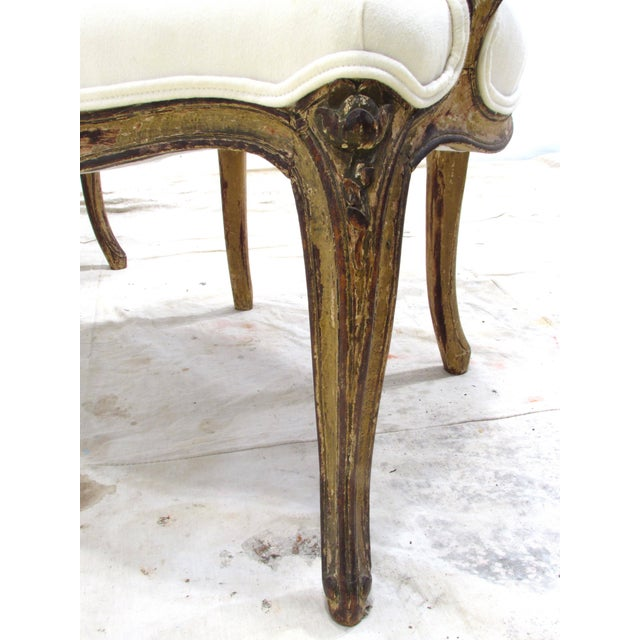 Louis XV Style Fauteuils - A Pair For Sale - Image 10 of 11