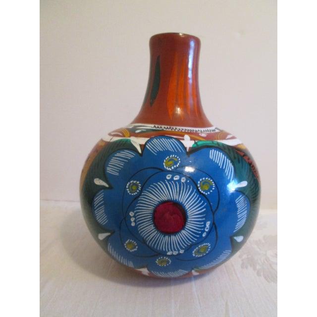 Mexican Artisan Ceramic Water Jug - Image 2 of 7