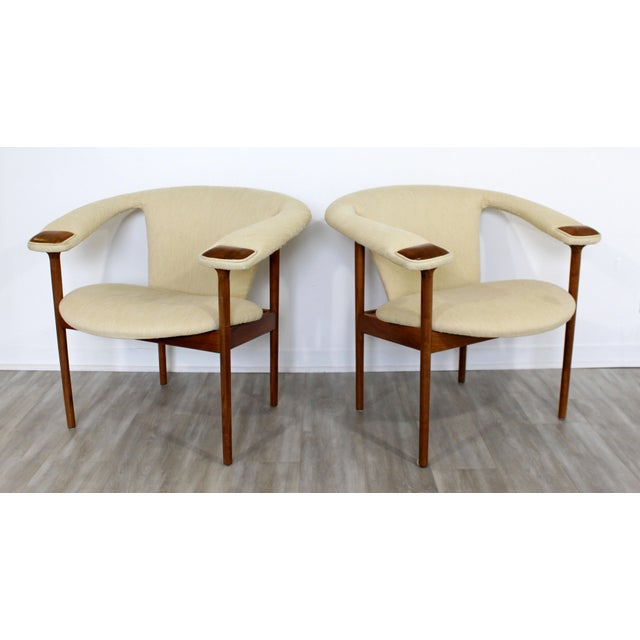Mid Century Modern Adrian Pearsall Wood Lounge Armchairs - a Pair For Sale - Image 9 of 9