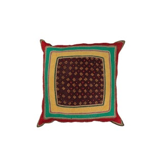 Indian Gudjarati Pillow For Sale
