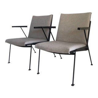 Black Oase Lounge Chair by Wim Rietveld for Ahrend de Cirkel, 1950s