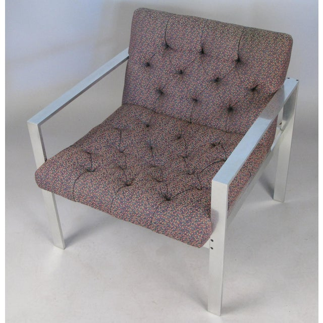 Mid-Century Modern 1960s Vintage Aluminum Frame Lounge Chairs by Harvey Probber-a Pair For Sale - Image 3 of 7