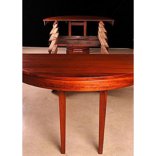 Brown & Simonds Antique Mahogany Dining Table For Sale - Image 4 of 5