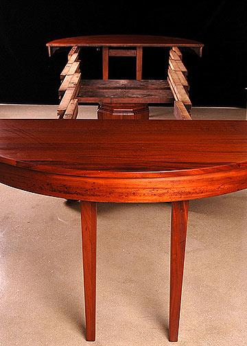 Brown U0026 Simonds Antique Mahogany Dining Table For Sale   Image 4 ...