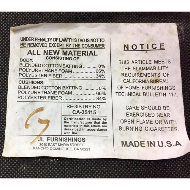 Custom Ordered Leather Nailhead Armchairs - Set of 6 - Image 11 of 11