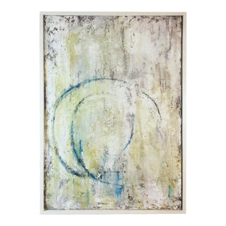 """Contemporary Abstract Painting Titled """"Loop"""" by Robin Phillips, Framed For Sale"""