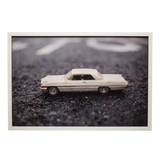 Framed Photograph of Model Car by Luke Anthony 2017 For Sale