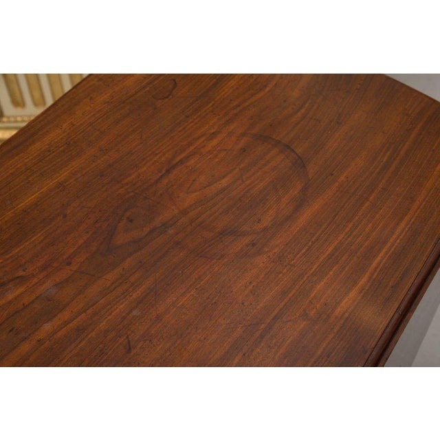 Gold 19th Century English Mahogany Oval Pembroke Table For Sale - Image 8 of 9