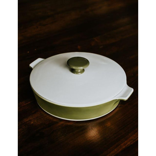 Green Avocado Corning Dutch Oven For Sale - Image 8 of 8