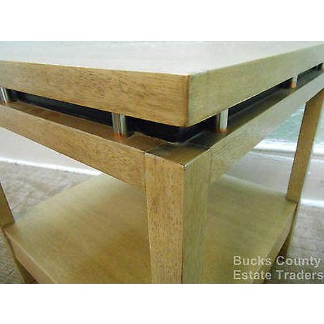 1960s American of Martinsville Cathay Casuals Mid Century End Table (James Mont Era) For Sale - Image 5 of 13