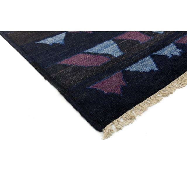 Inspired by the weavings of the Beni Ourain nomadic tribe in Morocco's snowy Atlas Mountains, this modern version offers...