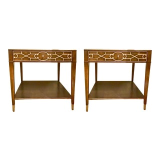Drexel Heritage Refinements End Tables - A Pair