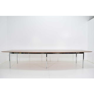 Florence Knoll Rosewood Dining or Conference Table Preview